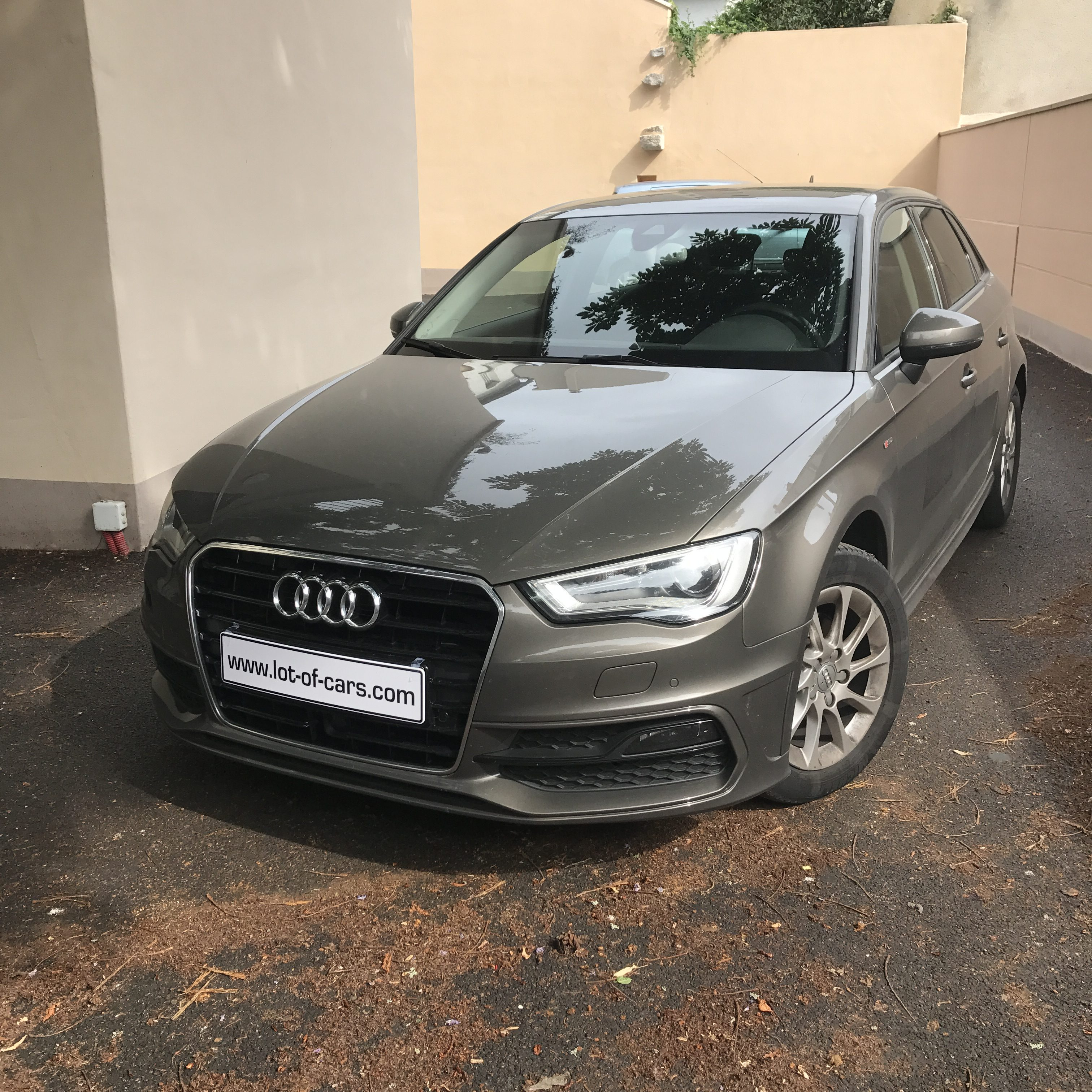 audi a3 sportback 2 0tdi 150cv s line s tronic 6 vendue lot of cars. Black Bedroom Furniture Sets. Home Design Ideas